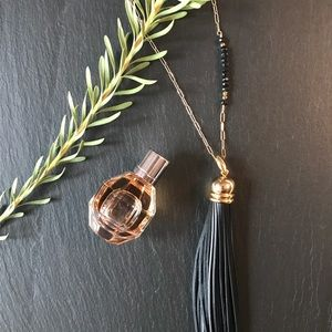 Jewelry - Leather Tassel Necklace